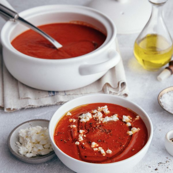 Roasted Red Pepper Soup recipe image